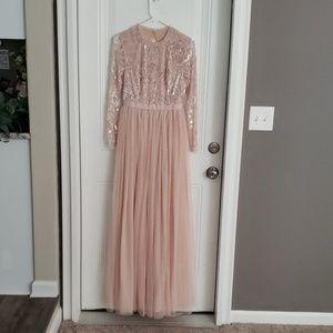 Needle and Thread Maxi Dress